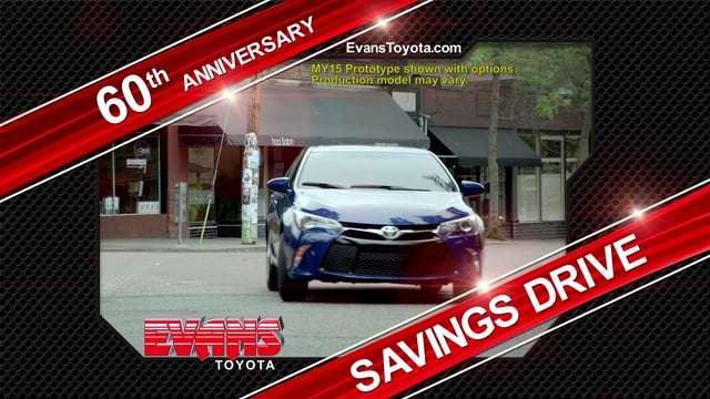 Evans Toyota Savings Drive